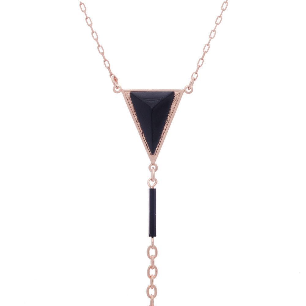 BLISS LAU DARK LADY BODYCHAIN ROSE GOLD CHAIN