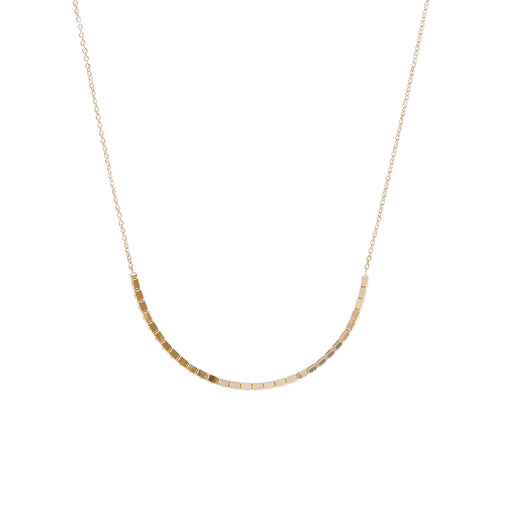 BLISS LAU HALO NECKLACE YELLOW GOLD CHAIN