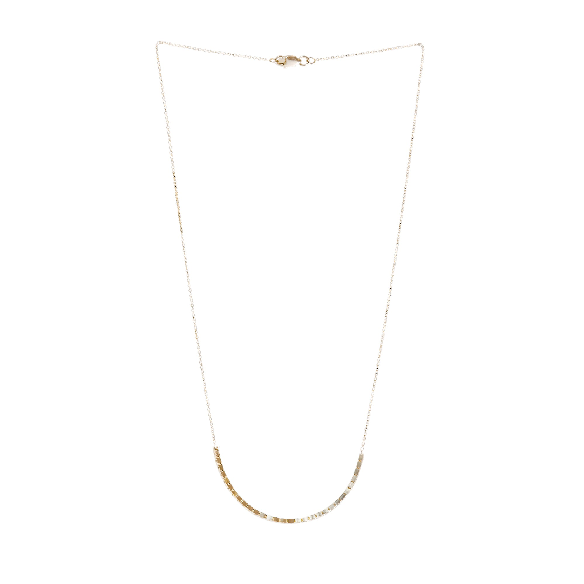 Halo Necklace 18K Yellow Gold