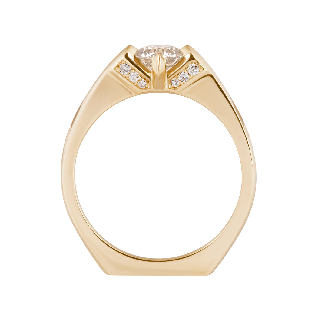 Minimalist Rise Ring - in stock