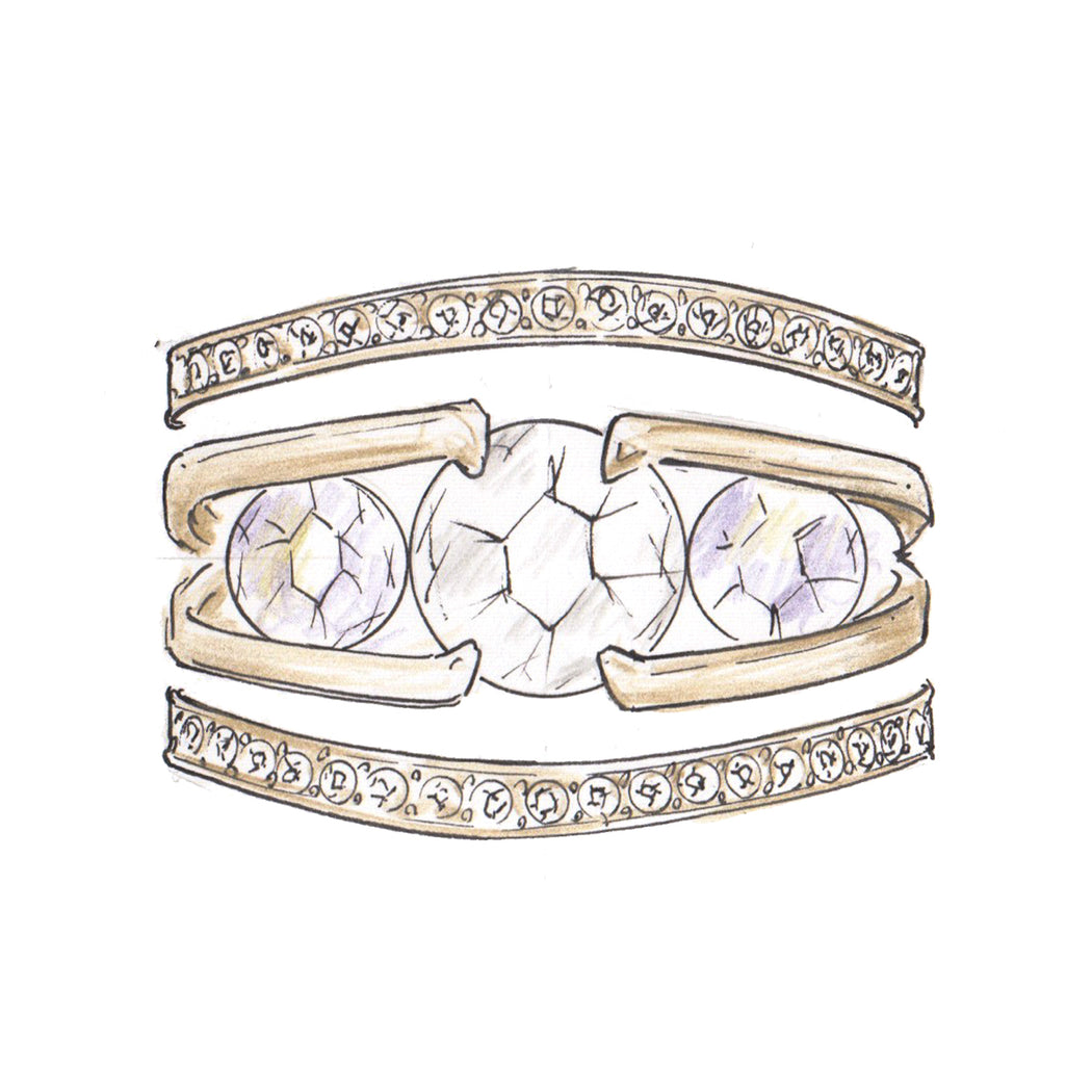 THE VISIONARY ReNew Slide Ring Set