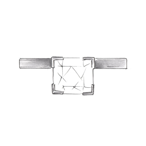 Solitaire Circularity Ring