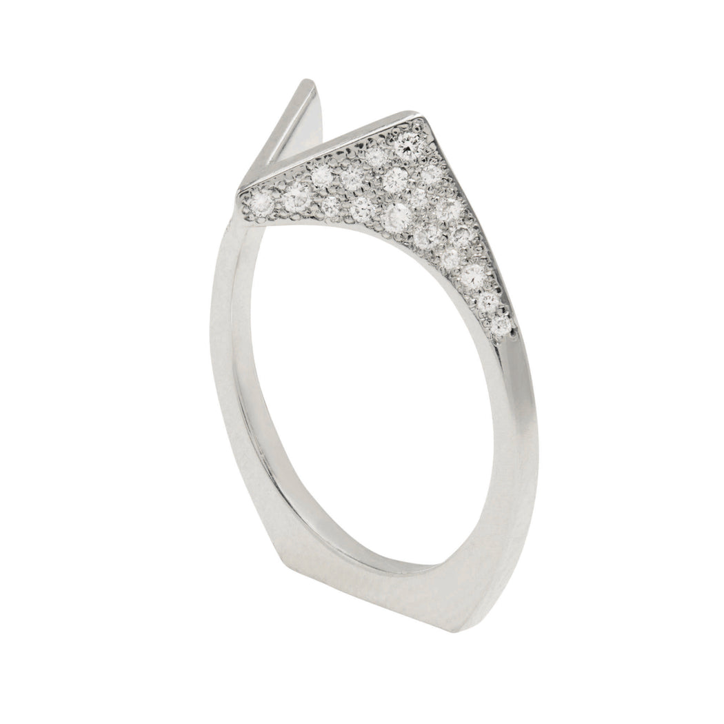 Spire Pavé Band - in stock