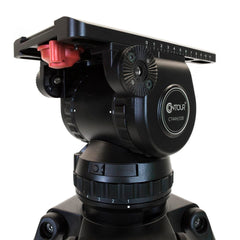 CT-44K - TRIPOD/FLUID HD/GRND SPRD/BARS/NEW