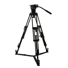 CT-15K - TRIPOD 75mm/FLUID HEAD/BAR/BAG, NEW