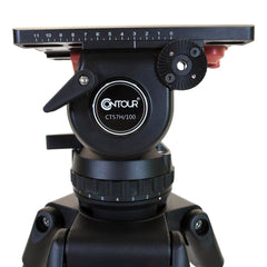 CT-57K - TRIPOD/FLUID HD/GRND SPRD/BARS/NEW