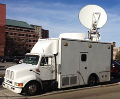 KU-BAND TRUCK - HD, MPEG 2 & 4, 2.4m VERTEX