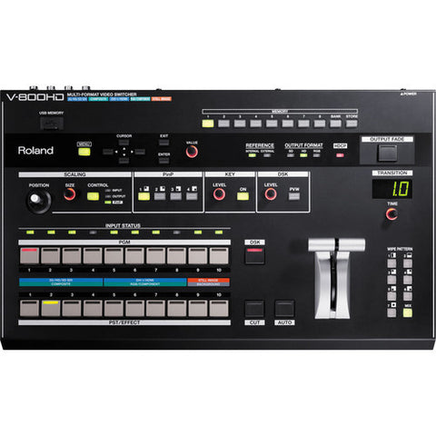 V-800HD - MULTI-FORMAT VIDEO SWITCHER