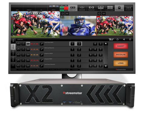 X2 - LIVE PRODUCTION/STREAMING STUDIO