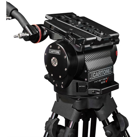 MASTER 65 - HEAD/TRIPOD/GRD SPDR/CASE/DEMO