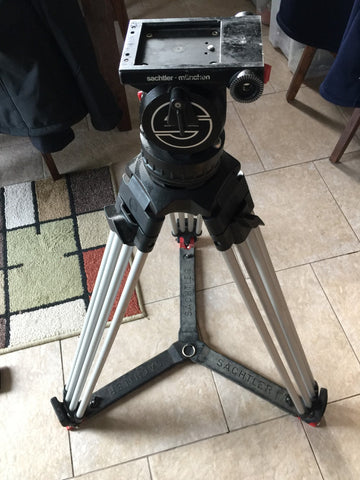 VIDEO 18 - TRIPOD, HEAD, GROUND SPREADER