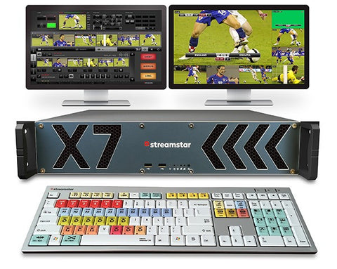 X7 - LIVE PRODUCTION/STREAMING STUDIO
