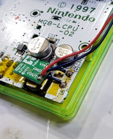 Game Boy Pocket v5 step-up voltage regulator - linklooklisten - Hand Held Legend - Pololu