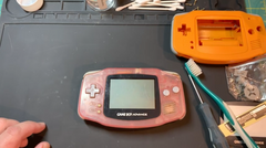 Hand Held Legend, HHL, reshell, Game Boy Advance, GBA, AGB, AGB-001, mod, modding