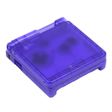 Hand Held Legend, HHL, Game Boy Advance SP, GBASP, GBA SP, GBA-SP, Game Boy Advance, shell, housing, translucent, purple, violet