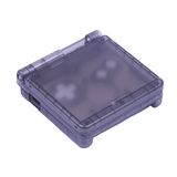 Hand Held Legend, HHL, Game Boy Advance SP, GBASP, GBA SP, GBA-SP, Game Boy Advance, shell, housing, translucent, smoke, black, gray, grey