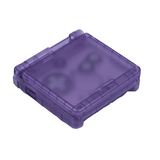 Hand Held Legend, HHL, Game Boy Advance SP, GBASP, GBA SP, GBA-SP, Game Boy Advance, shell, housing, translucent, purple