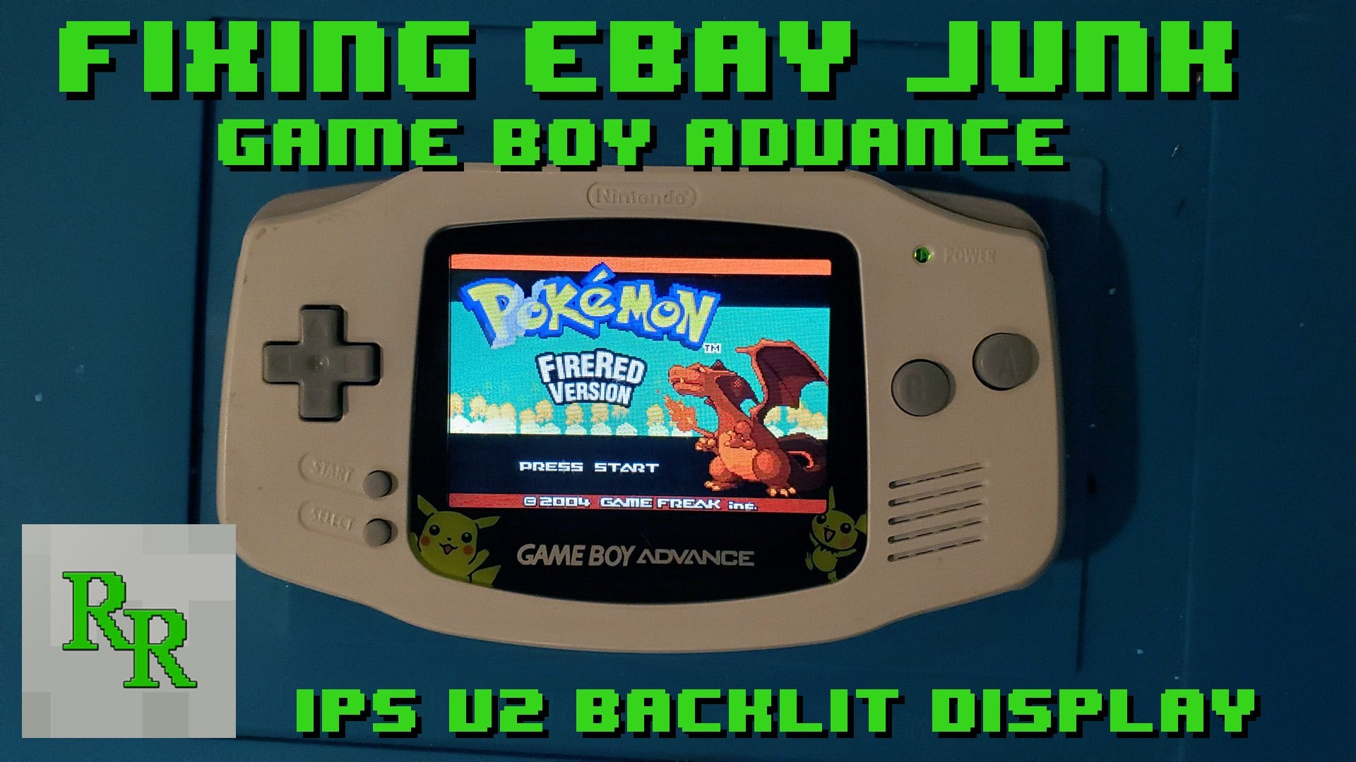 Hand Held Legend, HHL, Retro Repairs, RetroRepairs, Adam, Game Boy Advance, GBA, AGB, AGB-001, Funnyplaying, Funny Playing