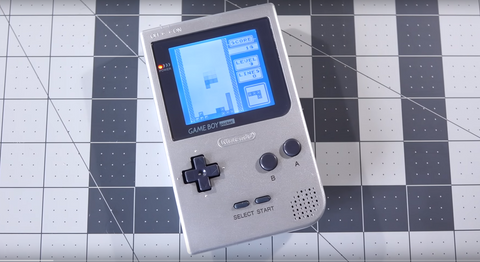 Game Boy Pocket Bivert with Backlight