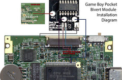 Game Boy Bivert/Hex Module V2 | DMG and Pocket - Hand Held Legend, LLC - 9