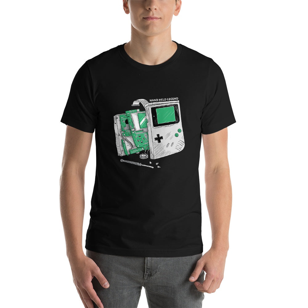 """Green Guts"" Short Sleeve T-shirt - Hand Held Legend, LLC"