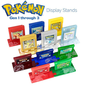 Stands - Game Boy Display Stand Set - Pokémon Legendary Edition