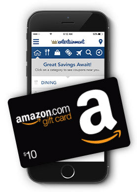 Entertainment.com Membership with $10 Amazon GC for $20 per year
