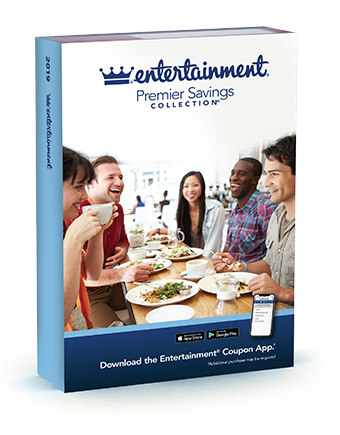 $5 off 2019 Entertainment Books + Free Shipping