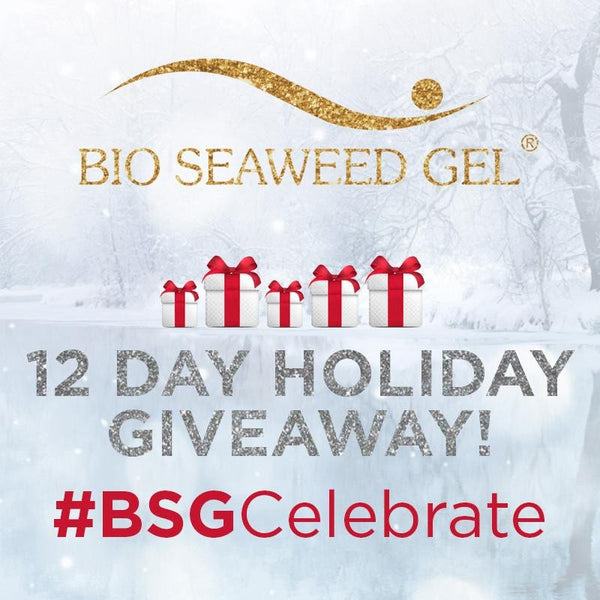 12 Day Holiday Giveaway! | Bio Seaweed Gel Canada