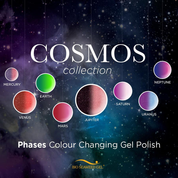 Phases Colour Changing Gel Polish: COSMOS Collection | Bio Seaweed Gel Canada