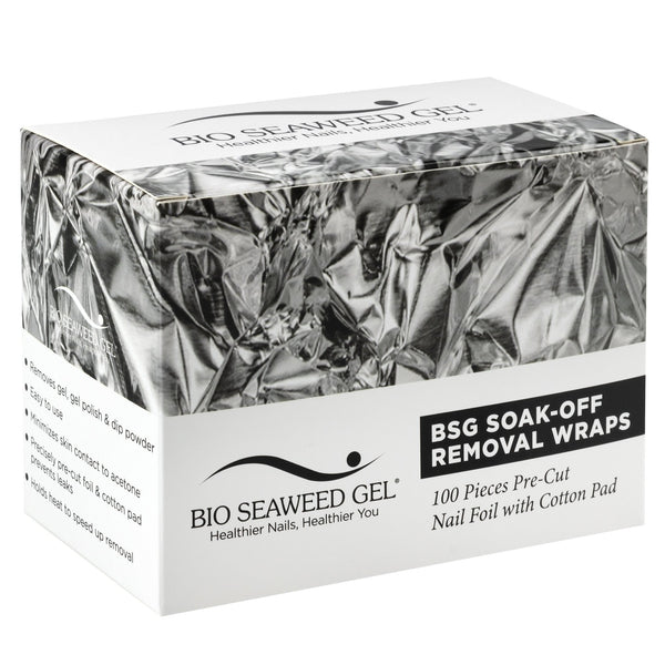 Soak-Off Removal Wraps - Bio Seaweed Gel Canada