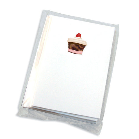 cupcake mini note cards