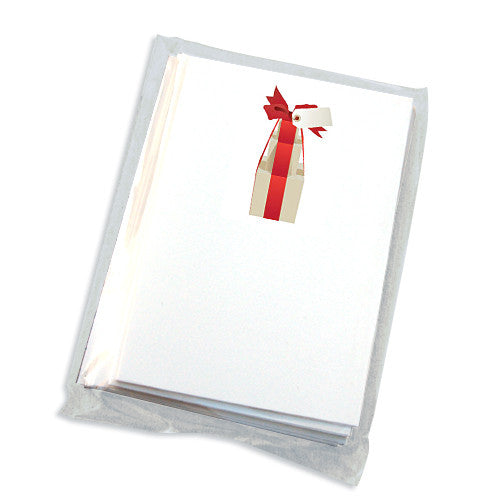 Present Box Mini Folded Note Cards (A Set of 6)