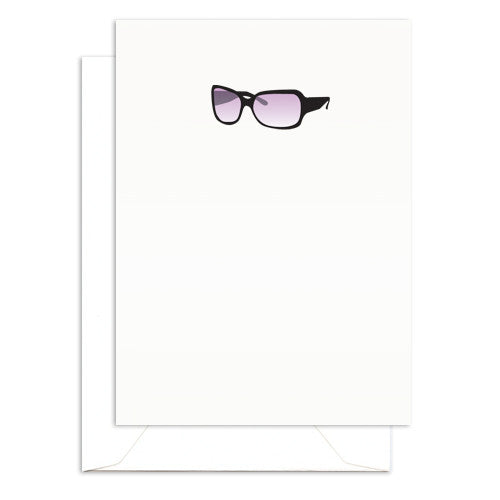 sunglasses mini note cards
