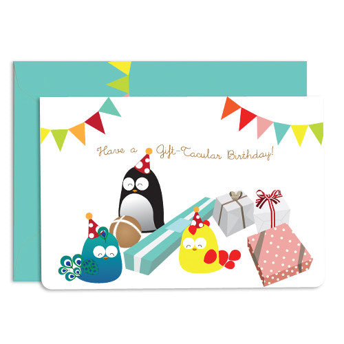 United Feathered Friends™ Birthday Wishes Boxed Cards