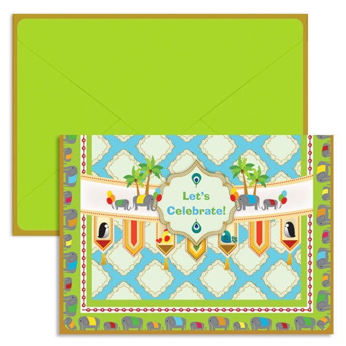 UFF Mosiac single card with envelope