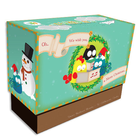 United Feathered Friends™ Boxed Note Cards - White Christmas