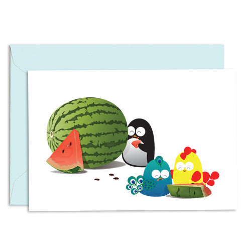 UFF everyday watermelon card