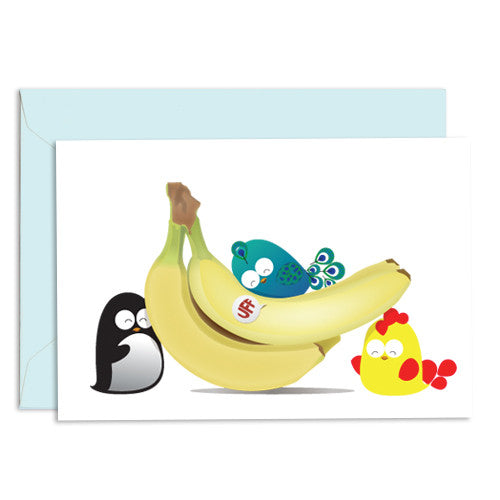 UFF everyday banana card