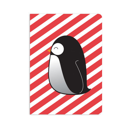 UFF penguin single card with envelope