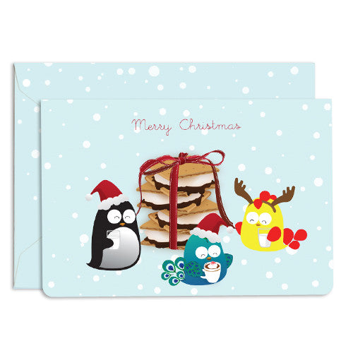 UFF Christmas preparation snack card