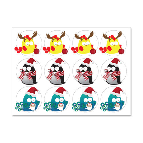 UFF christmas preparation stickers
