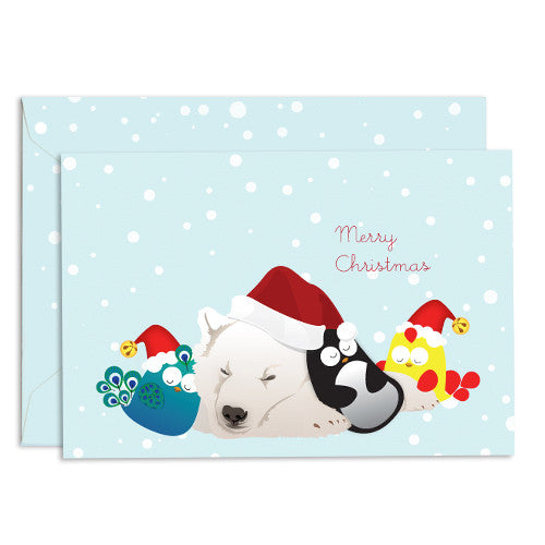 United Feathered Friends™ Christmas Friends Boxed Cards