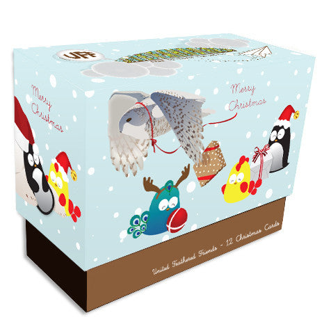 UFF Christmas friends box set