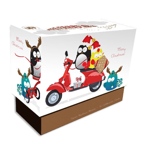 UFF Christmas wheels box set