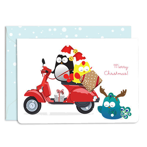 UFF wheels vespa card