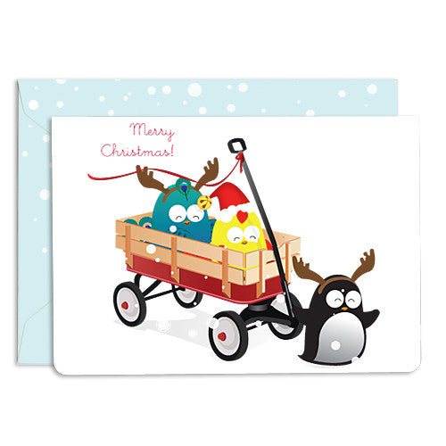 UFF wheels wagon card