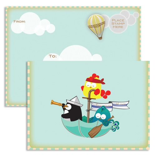 UFF adventure balloon card