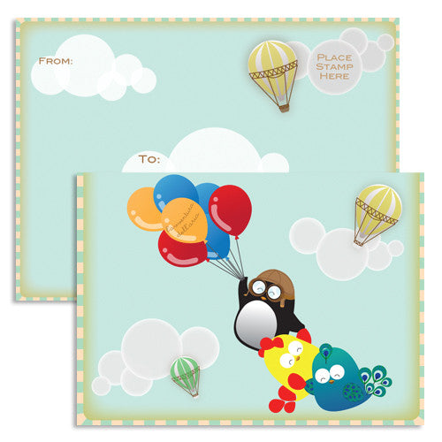 UFF adventure balloons cards
