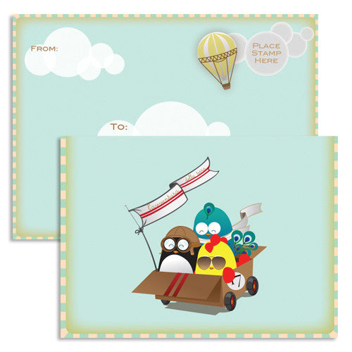 UFF everyday land adventure note card